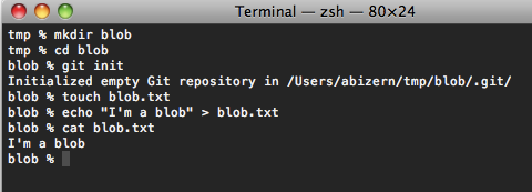 how to create a git repository locally